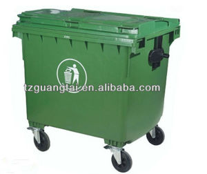 Durable Plastic Trash Can 1100L pictures & photos