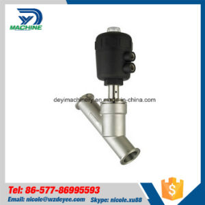 Sanitary Stainless Steel Clamped Angle Seat Valve pictures & photos