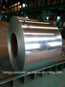 Zero Spangle Z60 Sgch Gi Galvanized Steel Coil for Building pictures & photos