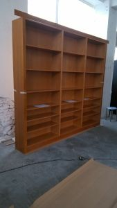 Hard Maple Solid Wood Living Room Wardrobes pictures & photos