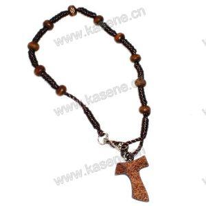 Hot Sale Cheap Cord Rosary Bracelet pictures & photos