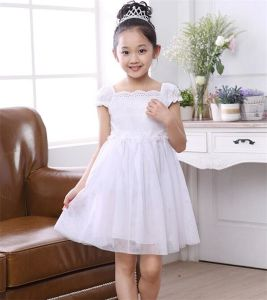 Flower Girl′s Fashion Princess Dress in Various Colors pictures & photos
