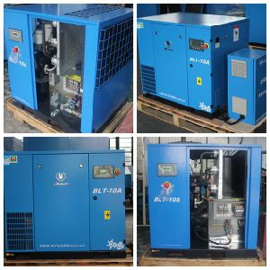 Screw Air Compressor with Air Tank pictures & photos