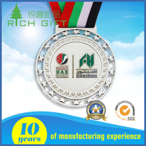 Custom Wholesale Cheap Souvenir Award Sport Medal with Gold Plated pictures & photos