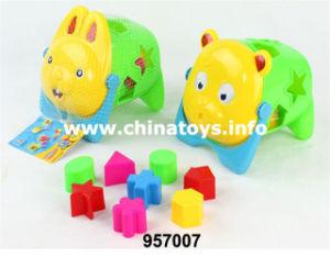 Building Block Puzzle Educational Plastic Toy (957007) pictures & photos