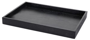 Hotel Black Wooden Service Tray pictures & photos