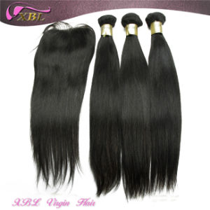 Natural Virgin Remy Human Hair Lace Closure Lace Frontal pictures & photos