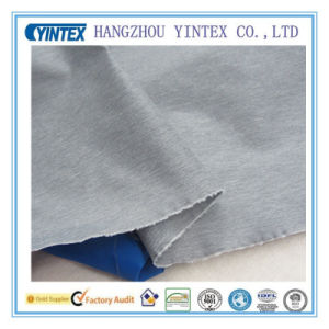 High Quality Knitting Cotton Water Proof Fabric, Gray pictures & photos