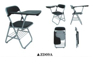 Plastic Conference Chair with Writing Tablet pictures & photos