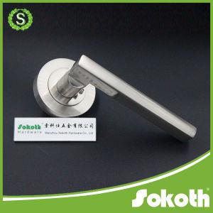 European Style Design Zinc Door Handle pictures & photos