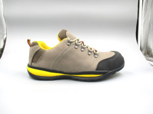 New Designed Nubuck Leather Safety Shoes with Cement Outsole (LZ5005) pictures & photos