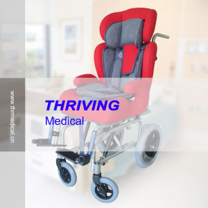 Thr-Cw258L Cerebral Palsy Hand Control Wheel Chair pictures & photos