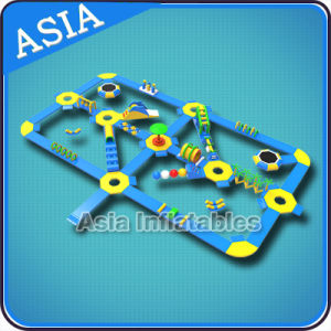 Outdoor Inflatable Floating Water Park for Open Water Beach, Inflatable Water Park Floating pictures & photos