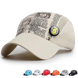 Kids Fashion Printed Microfiber Promotional Baseball Sports Sun Cap (YKY3418) pictures & photos