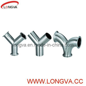 Stainless Steel Sanitary Y Type Tee pictures & photos