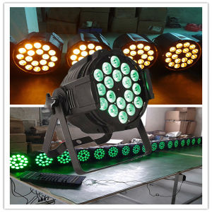 Competitive Price DMX512 Professional 18X15W 5in1 Aluminum LED PAR64