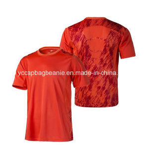 Wholesale Quick Dry Polyester Sport Athletic T Shirt pictures & photos