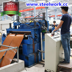 New Product Wooden Grain Pattern Steel Coil (CC-15) pictures & photos