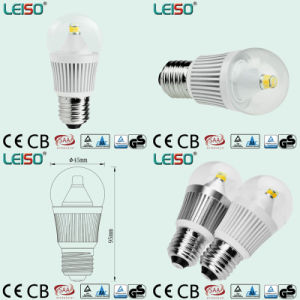 5W 3D COB LED Bulb Light with CE & RoHS Approved pictures & photos