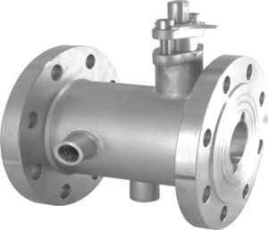 Stainless Steel Soft Seal Jacket Ball Valve pictures & photos