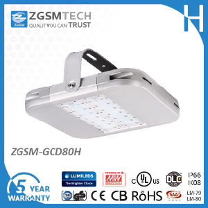 Industrial LED High Bay Lights 80W LED Warehouse Lights with UL Dlc Lm80 Lm79 pictures & photos