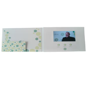 LCD Screen Video Birthday Card pictures & photos