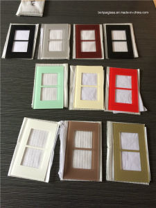 Customized Pattern Tempered Glass Touch Switch Panel, Switch Plate (BL-P-001) pictures & photos