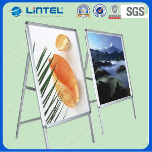 Single Sided a Sign Board Aluminum Banner Stand (LT-10-SR-32-A) pictures & photos