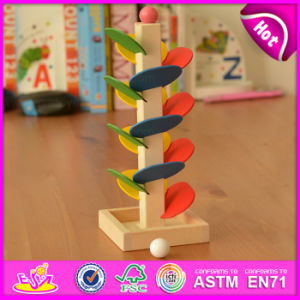 Educational Multi Colors Ladder Ball Wooden Game Toy for Children W04e025 pictures & photos