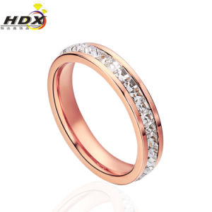High Quality Diamond Stainless Steel Jewellery Ring Fashion Ring (hdx1029) pictures & photos