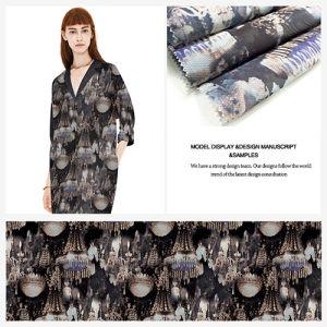 Digital Printed Organza Fabric for Garment Home Textile Dress Lining