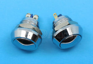 12mm Momentary, 2pin Push Button Switch, Push Switch (GQ-12BJ) pictures & photos