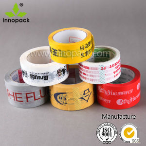 BOPP Adhesive Tape Jumbo Roll Used for Carton Sealing, Banding and Strapping pictures & photos