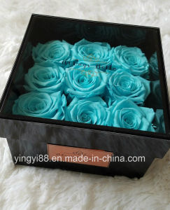 Acrylic Preserved Flower Packaging Gift Box pictures & photos