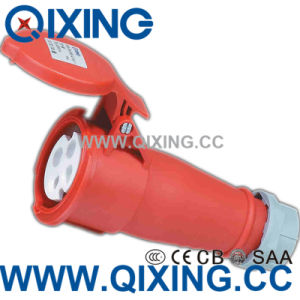 IP44 Best Quality IEC60309 32A 4pins Red Industrial Connector pictures & photos