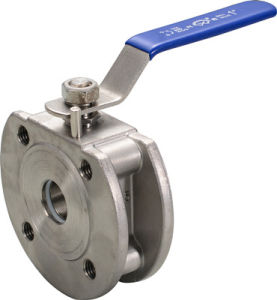Italy Wafer Flanged Ball Valve pictures & photos