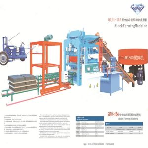 Concrete Hollow Weighted Cement Brick Block Making Machine pictures & photos