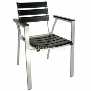 Europe Style Outdoor Aluminum/Metal Arm Chair (pwc-304) pictures & photos