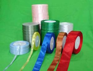 Wholesale Colorful Polyester Satin Ribbon (CRB-2015) pictures & photos