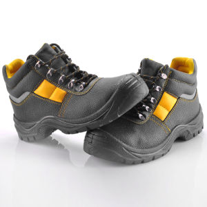 Industrial Leather Safety Shoes (M-8027) pictures & photos