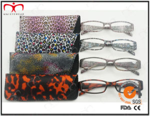 New Design Leopard Reading Glasses with Pouch (WRP504194) pictures & photos