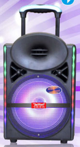 12inch Smart Wireless Bluetooth Trolley Speaker with Light Remote Cx-17D pictures & photos