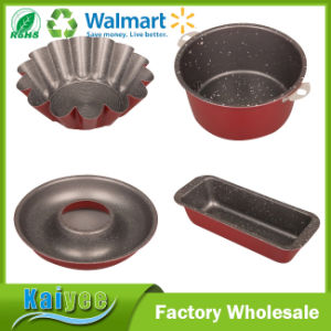 Different Material and Color Non Stick Bundt Cake Baking Pan pictures & photos