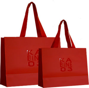 Luxury Laminationed Gift Bags, Shopping Paper Bags, Paper Bags pictures & photos