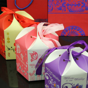 Paper Cardboard Gift Box & Bag Suitcase Present Packaging Box pictures & photos