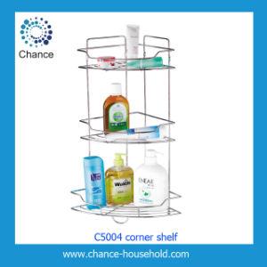 Wire Corner Rack for Bathroom Usage (C5004)