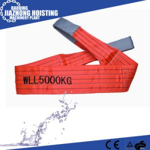 Factory Supply Polyester Canvas Soft Webbing Slings for Pipe Lifting pictures & photos