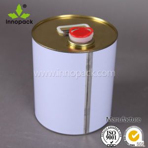 Closed Head Chemical Metal Tin Can with Spout pictures & photos