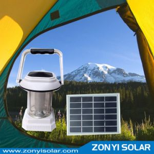 Hand Crank Solar Light Camping Light with Mobile Charger pictures & photos
