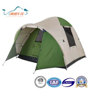 Popular Dome Double Layer Aluminum Rod Waterproof Outdoor Tent